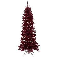 f20 7 ft pre lit cranberry tree at home at home