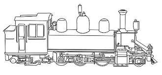 steam train coloring kids color luna
