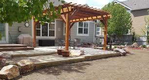 Backyard Pergola Ideas Pergola Design Fabulous Outdoor Pergola With Fire Pit Patio