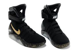 led lights shoes nike air mag nike air mag elite black gold with led lighting nike mag