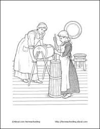 colonial boy coloring page colonial children coloring page american girl ideas pinterest