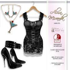 second life marketplace almamiranda lace and corset party