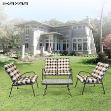 Metal Garden Table And Chairs Metal Patio Table Chairs Promotion Shop For Promotional Metal