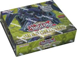 yu gi oh new challengers booster 1st ed box potomac distribution