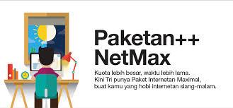 cara internet malam three dipakai siang internetan pagi malam bukan masalah dengan paketan netmax tri sepulsa