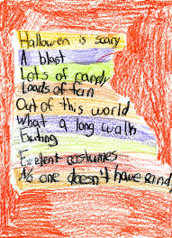 Halloween Acrostic Poem Template Spelling And Writing