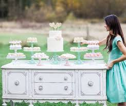 wedding dessert table displays this country chic dessert table displays a white two tiered cake