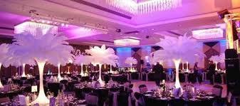 Eiffel Tower Vase Arrangement Ideas Wedding Decor Feather Wedding Decor Ideas Majestic Weddings