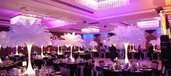 Eiffel Tower Centerpiece Ideas Wedding Decor Feather Wedding Decor Ideas Majestic Weddings