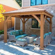 Patio Gazebo Ideas Wicker Patio Furniture As Patio Umbrellas With Patio