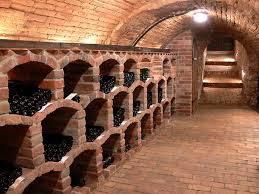 in floor wine cellar our french inspired home old world rustic wine cellars
