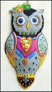 Owl Home Decorations 52 Best Metal Art Canvas Art Haitian Art Canvas Paintings