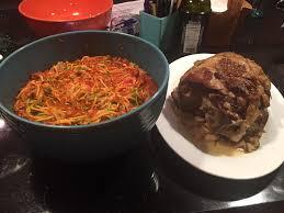 leg of lamb with warm lentil salad cooler kitchen