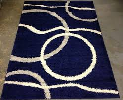 Blue And White Area Rugs Coral Branch Out Area Rug Navy Blue And White With Like Seaweed