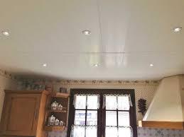 cuisine avec pose lambris pvc plafond cuisine avec pose de faux en ou 2017 exterieur