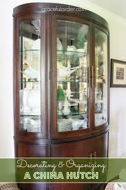 china cabinets hutches decorating a china cabinet hutch graceful order