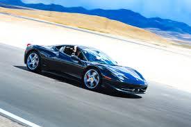 Ferrari 458 Drifting - race a ferrari 458 on track in vegas speedvegas
