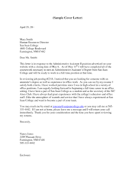 amazing cover letter for an admin job 47 about remodel cover