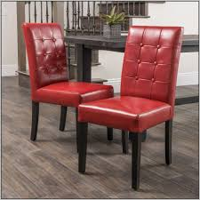 red leather dining room chairs with arms chairs home
