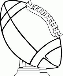 coloring pages football 4201