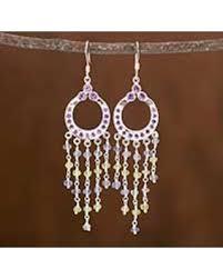 Peridot Chandelier Earrings Here U0027s A Great Price On Amethyst And Peridot Chandelier Earrings