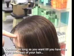 invisible part for thin hair volluma demo woman with thinning part youtube