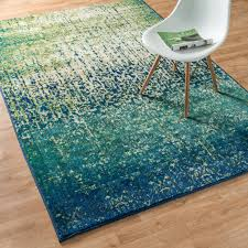 Tropical Accent Rugs Inspired By The Beauty Of Contemporary Watercolor Paintings The