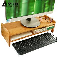 Standing Desk Accessories Luxury Bamboo Standing Desk Or Monitor Stand Riser Office Desk