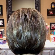 cheap back of short bob haircut find back of short bob the back of a stacked layered bob not sure about you but i always