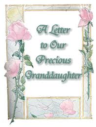letter to our precious granddaughter