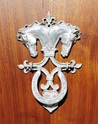 horse head door knocker with classical design patricia borum