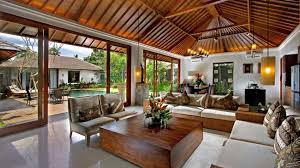 amazing wild living room decor ideas bring you back to the nature beautiful open floor simple natural tropical living room with exposed wooden roof retractable glass wall batik