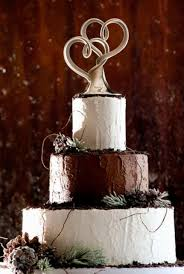 heart wedding cake toppers tier wedding cake with modern dual heart sculpture topper jpg