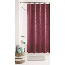 Shower Curtains With Red Bathroom Wondrous Shower Curtain Walmart With Alluring Design For