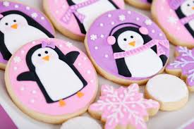 Cute Pink Pictures by Pink And Purple Penguin Cookies U2013 Glorious Treats