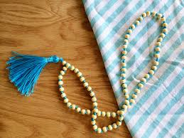 long beaded tassel necklace images Beaded tassel necklace png