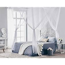 Princess Canopy Bed Amazon Com Goplus 4 Corner Post Bed Canopy Mosquito Net Full
