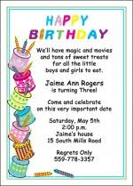 kids birthday invitations for children of all ages