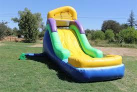 14 ft backyard water slide