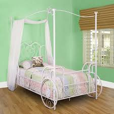 princess emily carriage canopy twin size bed walmart com