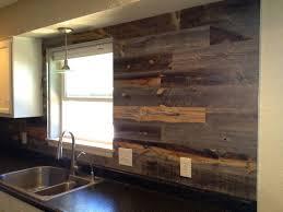 Wood Kitchen Backsplash Backsplash Meant To Catch Your Eye Spazio La