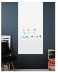 office whiteboard wall removable erasable sticker 60 x 45 cm