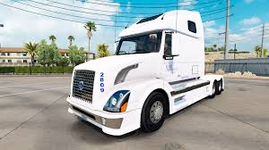 truck volvo skin b a h express truck volvo vnl 670 for american truck simulator