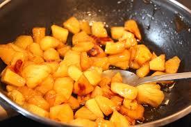 cuisiner l ananas ananas rôti au sirop d érable pour ceux qui aiment cuisiner