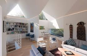 All White Living Room by Architecture Living Room Home In Saint Cast Le Guildo France By