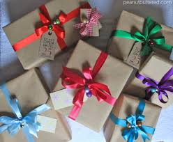 gift wrapping ribbon that s a wrap peanut buttered