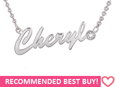 Custom Name Necklaces Buy Personalized Custom Name Necklace In Silver Or Gold South
