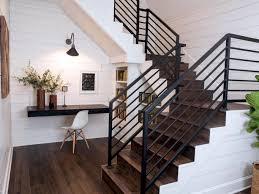 Staircase Handrail Design 80 Modern Farmhouse Staircase Decor Ideas Modern Farmhouse