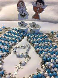 1st communion favors catholic rosaries mini rosaries baptism favors communion