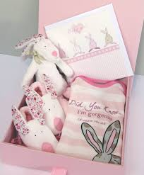 luxury newborn baby gift set by lush baby